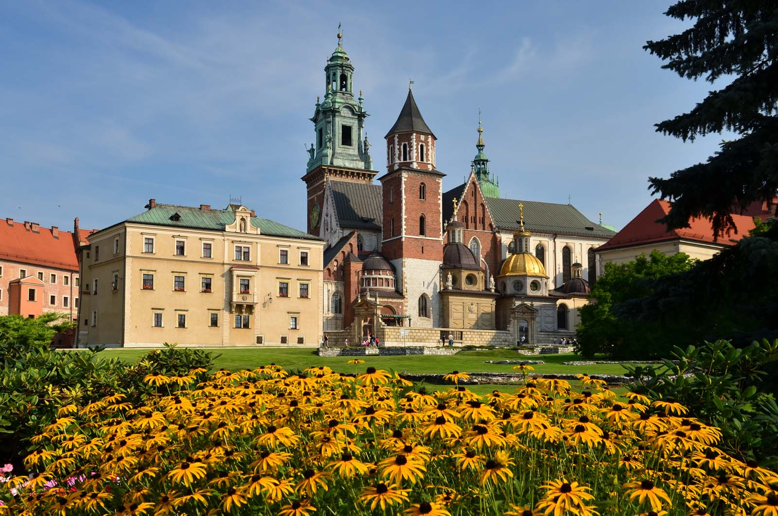Gotycka Bazylika Archikatedralna św. Stanisława i św. Wacława, Kraków, Polska