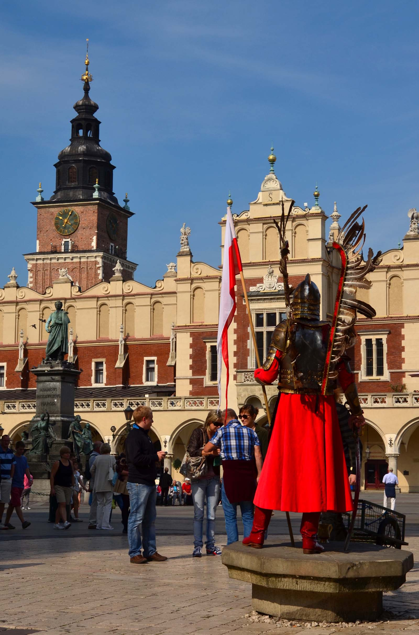 Epokowy strój. Kraków, Polska