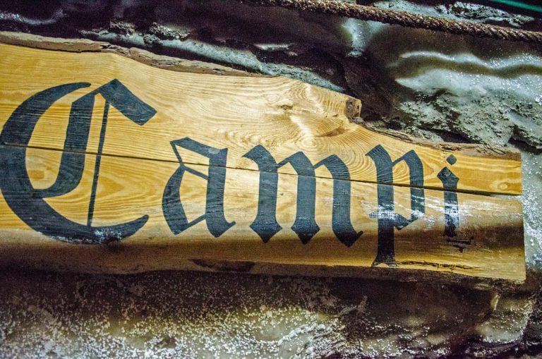 Szyb Campi to jeden z trzech szybów wpisanych na listę UNESCO, kopalnia w Bochni, Polska