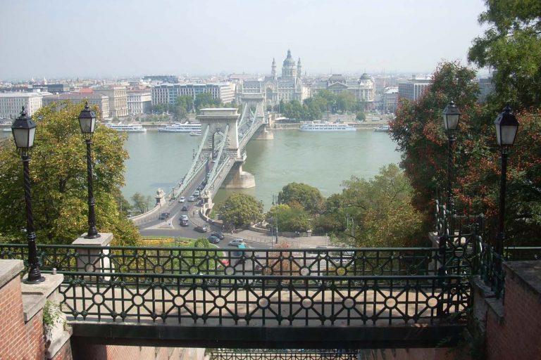 Nadbrzeża Dunaju w Budapeszcie. Węgry.