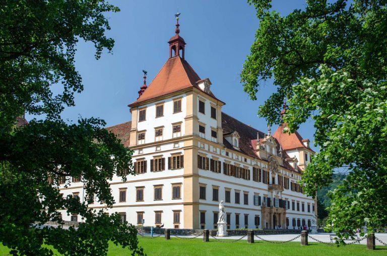 Zamek Eggenberg w Graz. Austria