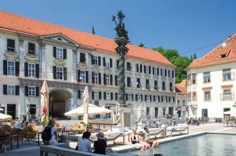 Historyczne centrum Graz