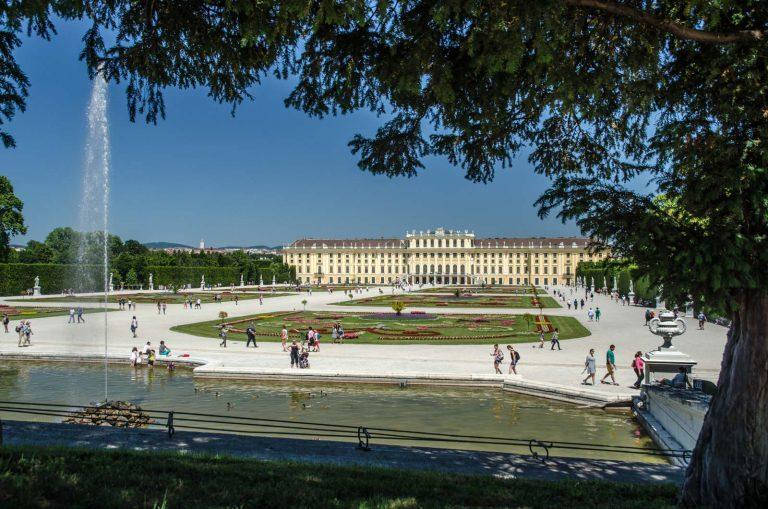 Pałac i ogrody Schonbrunn, Wiedeń.