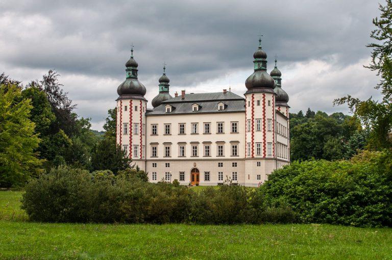 Pałac i park we Vrchlabi