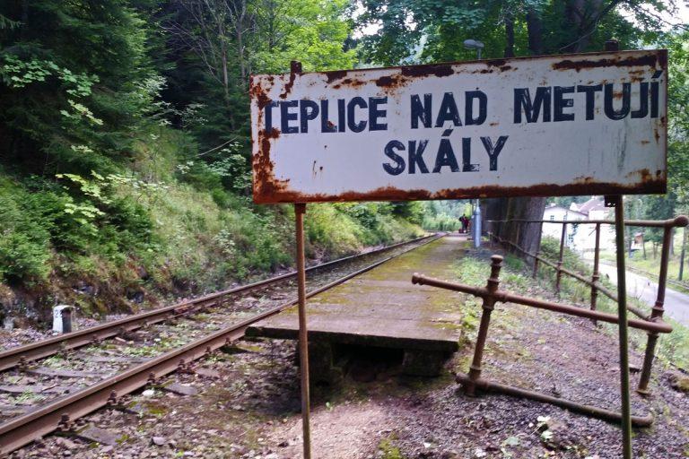 Stacja Teplice nad Metuji Skaly.