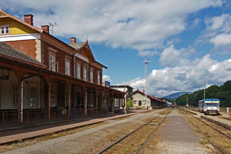 Stacja kolejowa Trutnov 2017 r