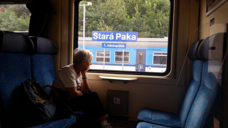 W czeskim vlaku