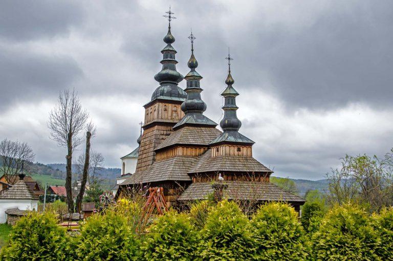 Drewniane cerkwie regionu Karpat. Owczary.