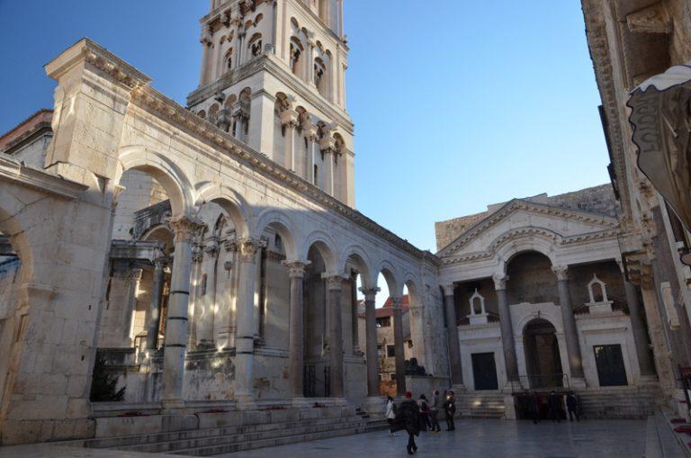 Split. Chorwacja, Pałac Dioklecjana
