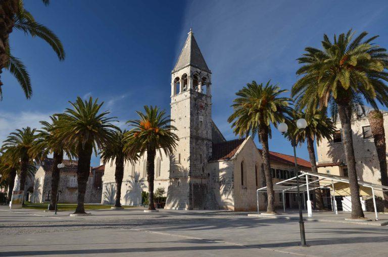 Trogir, promenada, Chorwacja