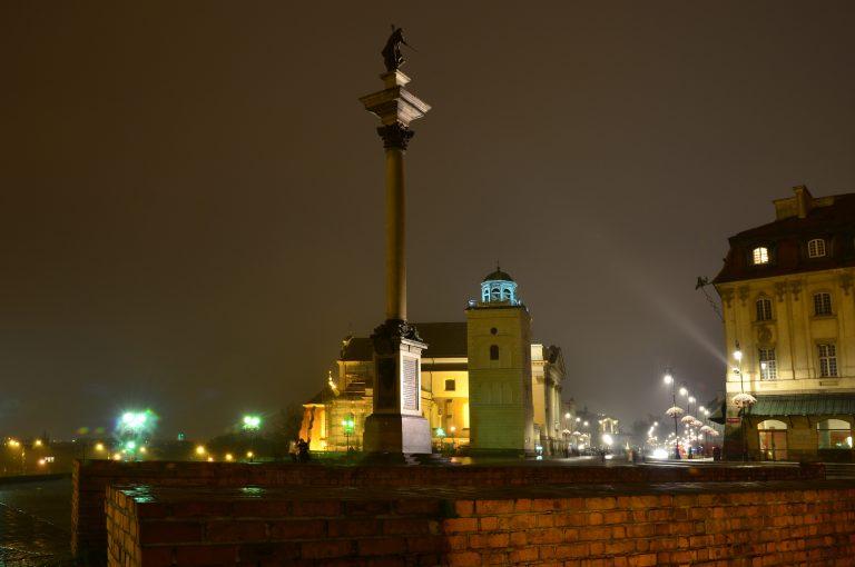 Kolumna Zygmunta III Wazy na Placu Zamkowym w Warszawie